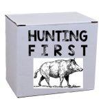 "Tasse ""Hunting First"""